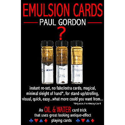 Emulsion Cards - magic