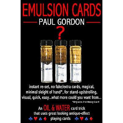Emulsion Cards - magic