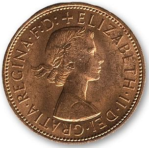 English Penny - magic