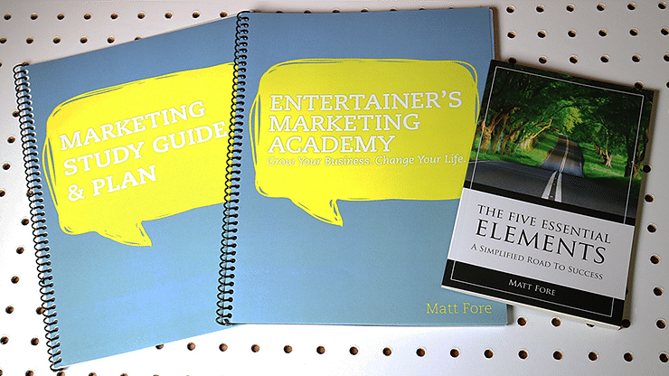 Entertainer's Marketing Academy