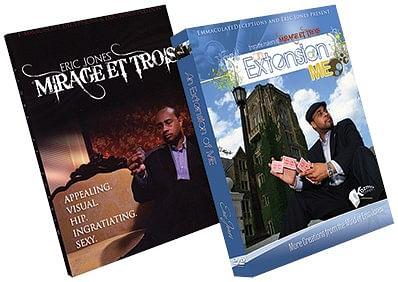Eric Jones Set: Mirage et Trois and Extension of Me - magic