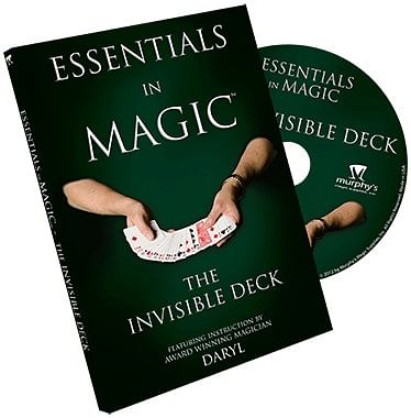Essentials in Magic- Invisible Deck - magic