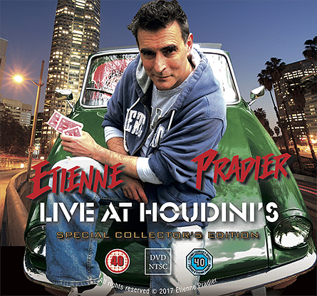 Etienne Pradier Live at Houdini's - magic