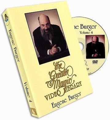 Eugene Burger Greater Magic Volume 4 - magic