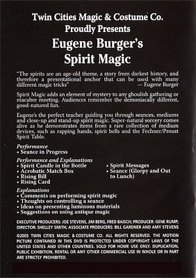 Eugene Burger's Spirit Magic Volume 24