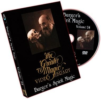 Eugene Burger's Spirit Magic Volume 24 - magic