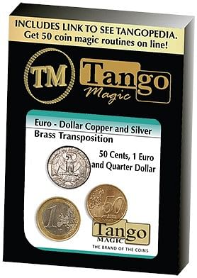 Euro-Dollar Silver/Copper/Brass Transposition - magic