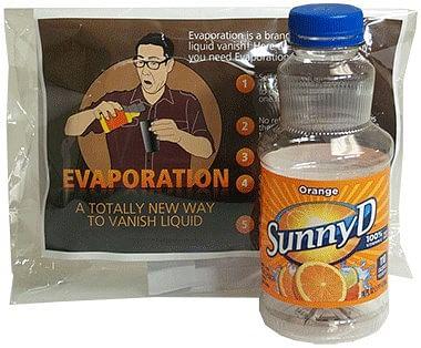 Evaporation - magic