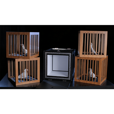 Everything to 4 Dove Cages - magic