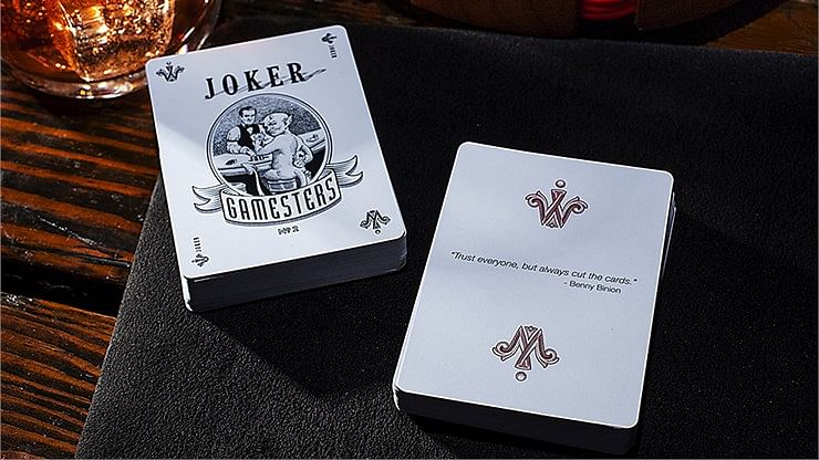 Exclusive Edition Gamesters Playing Cards (Green)