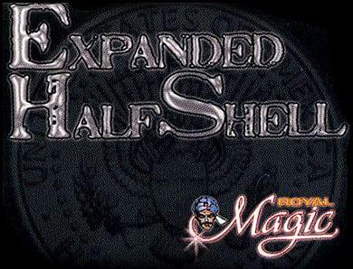 Expanded Half Dollar Shell (Struck) - magic