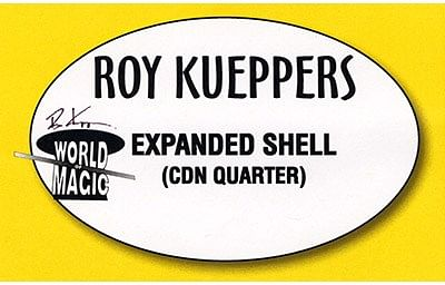 Expanded Shell Canadian Quarter - magic