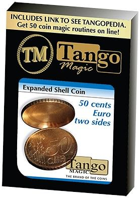 Expanded Shell Coin 50 Cent Euro - magic