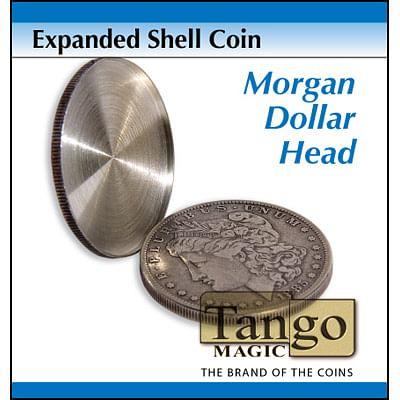 Expanded Shell - Morgan Dollar - magic