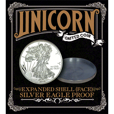 Expanded Shell - Silver Eagle Proof (Heads) - magic