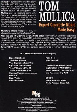 Expert Cigarette Magic Made Easy - Volume 3