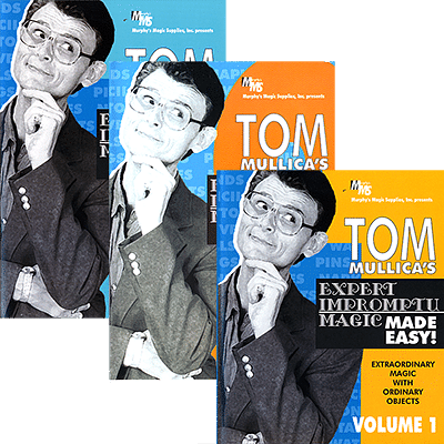Expert Impromptu Magic Made Easy - Volumes 1-3 - magic