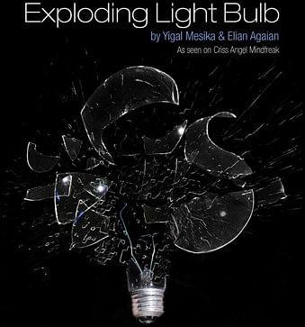 Exploding Light Bulb - magic