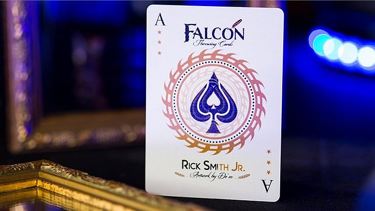 Falcon Throwing Cards