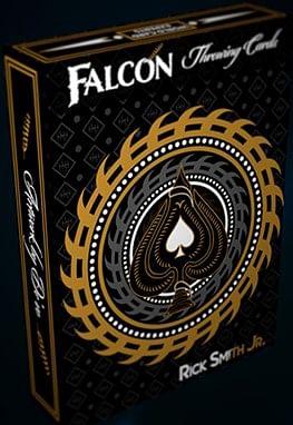 Falcon Throwing Cards - magic