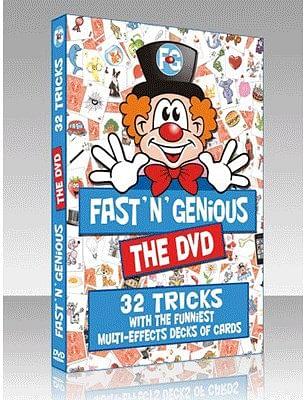 Fast 'N' Genious DVD - magic