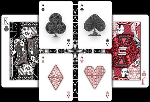 Fibs Playing Cards - Black
