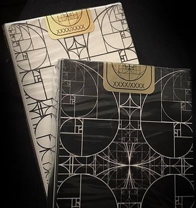 Fibs Playing Cards - Black
