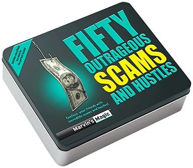 Fifty Outrageous Scams & Hustles - magic