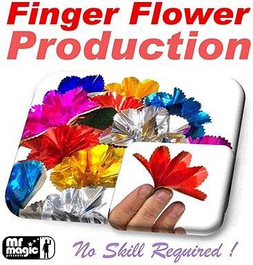 Finger Flower Production - magic