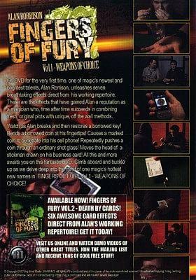 Fingers of Fury Volume1