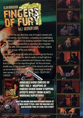 Fingers of Fury Volume2