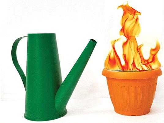 Fire Can Botania - magic
