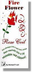Fire Flower/Rose Coil trick - magic