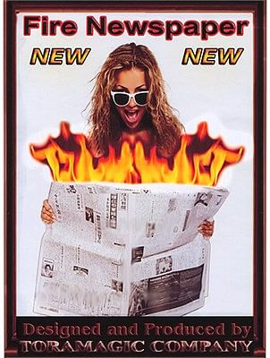 Fire Newspaper - magic