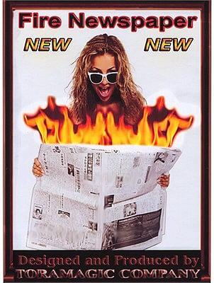 Fire Newspaper - magic
