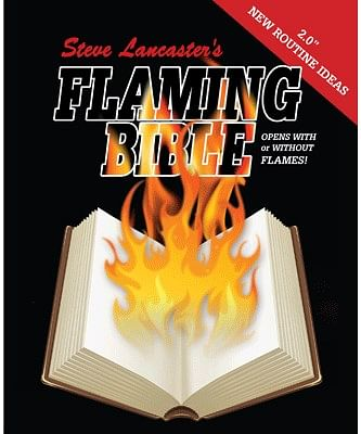 Flaming Bible - magic
