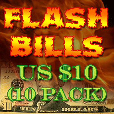 Flash Bill Ten Pack ($10) - magic
