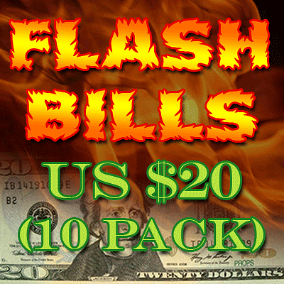 Flash Bill Ten Pack ($20) - magic
