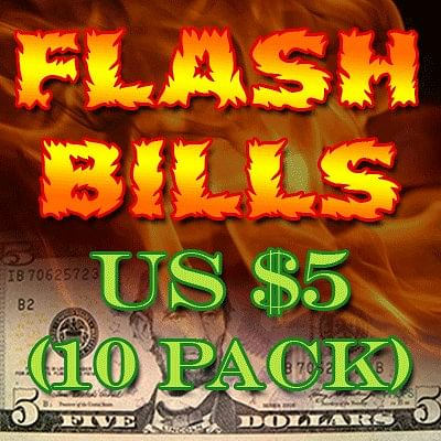 Flash Bill Ten Pack - magic