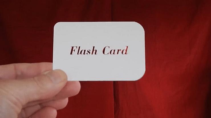 FLASH CARD - magic