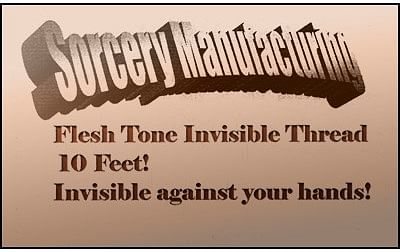 Flesh Tone Invisible Thread - magic