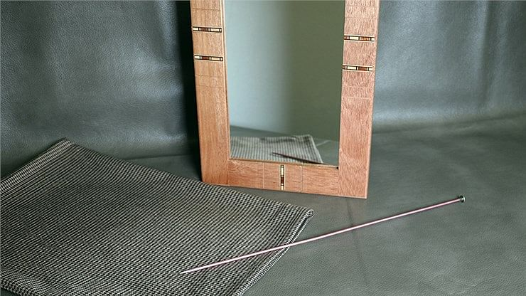 Flexible Mirror/Needle Through Mirror