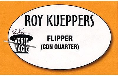 Flipper Coin - Canadian Quarter - magic