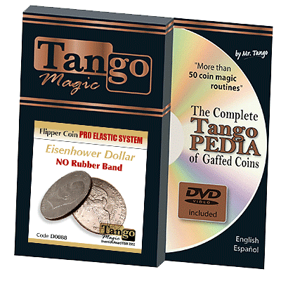 Flipper Coin Pro Elastic System - Dollar - magic