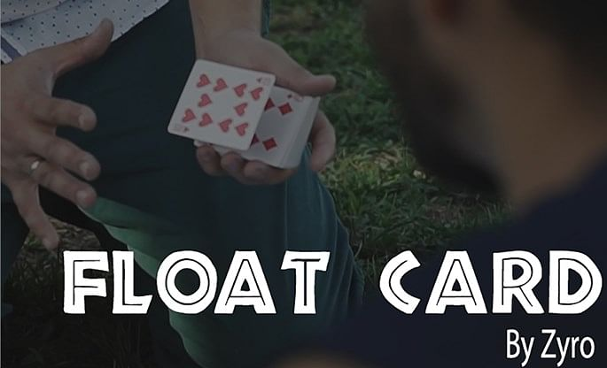FLOAT CARD - magic