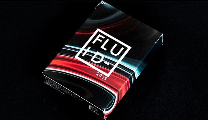 FLUID-2019 Edition Playing Cards - magic