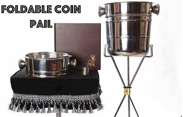Foldable Coin Pail - magic