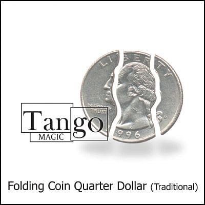 Folding Coin - Quarter Dollar - magic