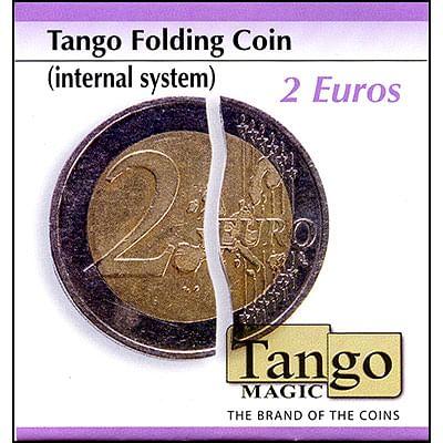 Folding Coin - 2 Euros - Premium - magic