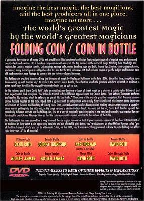 Folding Coin - Coin In Bottle